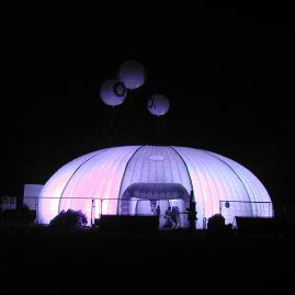 O2 traveling pavilion