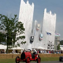 FORD SCULPTURE, GOODWOOD FESTIVAL OF SPEED