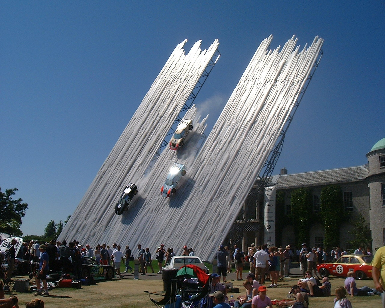 FORD SCULPTURE GOODWOOD FESTIVAL OF SPEED Malishev