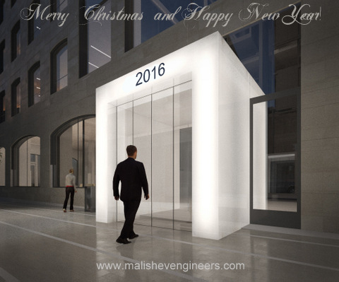 Season greetings from Malishev Engineers!