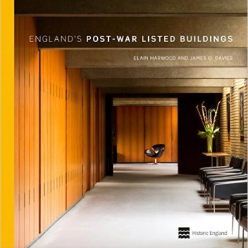 Our project is featured in England's Post-War Listed Buildings book