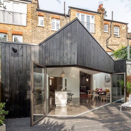 Uplands road crouch end malishev engineers for Stress skin panels cost