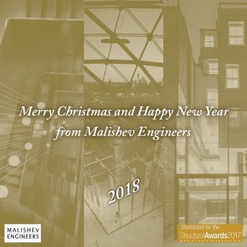 Merry Christmas and Happy New Year from Malishev Engineers
