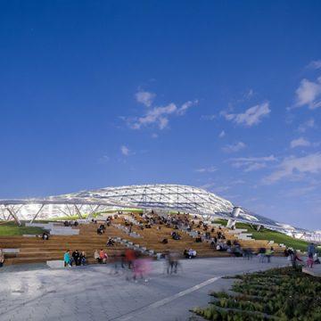 Zaryadye Park-Winner Building of the Year 2018