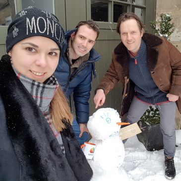 Snows like team spirit