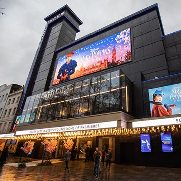 Odeon Leicester Square opened it's glass doors