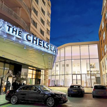 Chelsea Design Centre, main facades